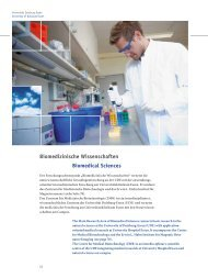 Biomedizinische Wissenschaften Biomedical Sciences