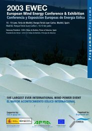 montage def progr.EWEC 2003 - European Wind Energy Association