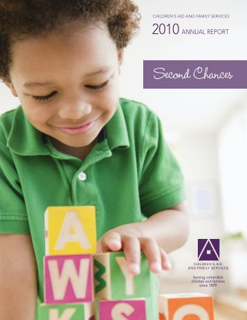 2010: Second Chances - Children's Aid and Family Services