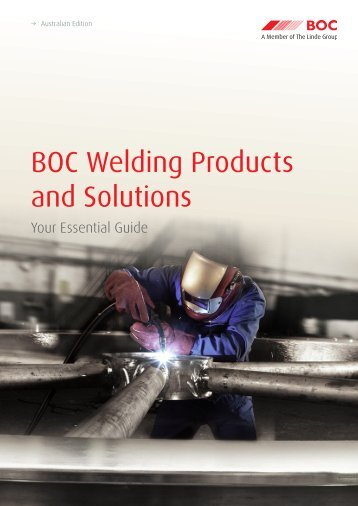 BOC Welding Products and Solutions