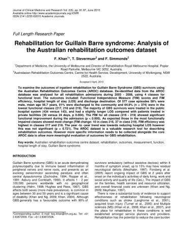 Guillain–Barré syndrome