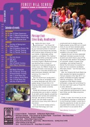 FHS Issue 19:Layout 1 - Forest Hill School