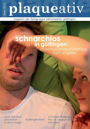 08 Der 'Präpkurs' – Anatomie - Fachgruppe Zahnmedizin Göttingen