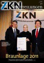 Braunlage 2011 - Zahnärztekammer Niedersachsen