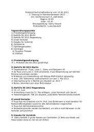 Protokoll Fachschaftssitzung vom 10.05.2012 2. Sitzung im ...