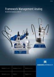 Framework Management Analog - AmannGirrbach AG