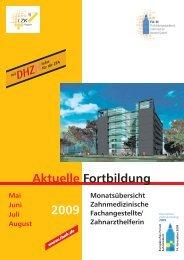 kursorische fortbildung - FAZH - Landeszahnärztekammer Hessen