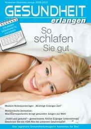Zu-Bett-geh-Zeiten - Universitätsklinikum Erlangen