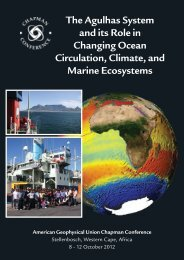 The Agulhas System and its Role in Changing Ocean Circulation ...