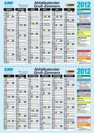 Abfallkalender Groß-Zimmern - Zweckverband Abfall- und ...