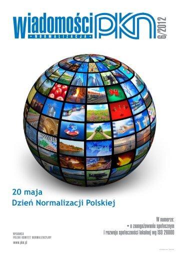 20 maja Dzień Normalizacji Polskiej - Polski Komitet Normalizacyjny