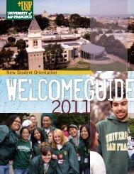 New Student Orientation - University of San Francisco