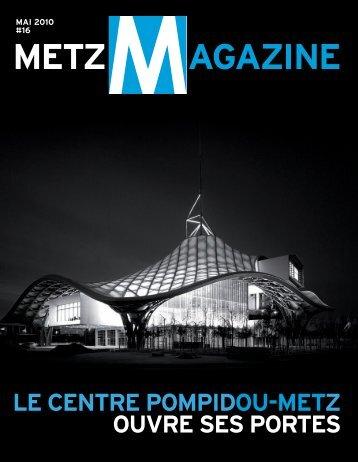 LE CENTRE POMPIDOU-METZ OUVRE SES PORTES
