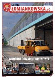 Gazeta Łomiankowska.pl nr 12 z 12 października - Łomianki, Urząd ...