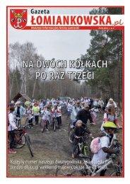 Gazeta Łomiankowska.pl nr 2 z 20 kwietnia - Łomianki, Urząd ...