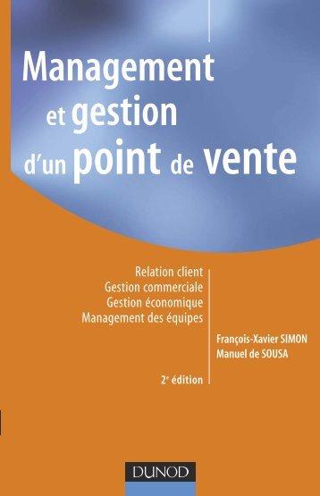 Management et gestion d'un point de vente - 2 ... - Livres Pour Tous