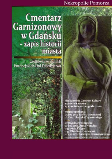 CMENTARZ GARNIZONOWY.pdf - Europejskie dni dziedzictwa