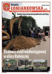 Gazeta Łomiankowska.pl nr 7 z 6 lipca - Łomianki, Urząd Miasta i ...