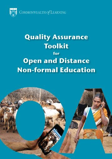 Quality Assurance Toolkit for Open and Distance Non-formal ...