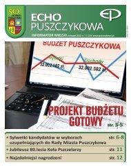 Listopad 2012 - Puszczykowo, Urząd Miasta
