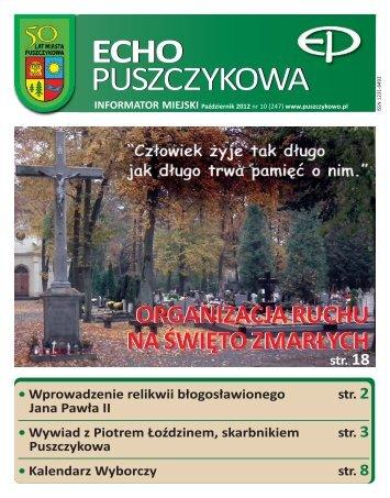 Październik 2012 - Puszczykowo, Urząd Miasta