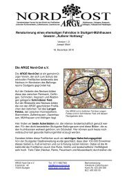 Abschlussbericht - ARGE Nord-Ost