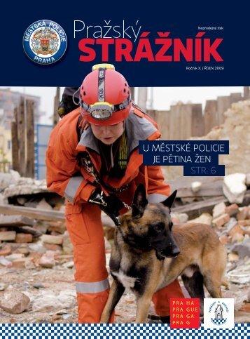 STRÁŽNÍK - Městská policie hlavního města Prahy