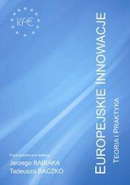 europejskie innowacje – teoria i praktyka - EUROFUNDS.org