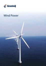 Wind power capability statement - Grontmij