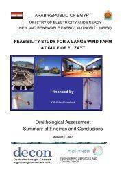 FEASIBILITY STUDY FOR A LARGE WIND FARM AT GULF ... - NREA