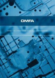 costruzione e progettazione stampi plastica pressofusione - Omfa