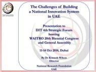 Zayed University Presentation - TechnoPark