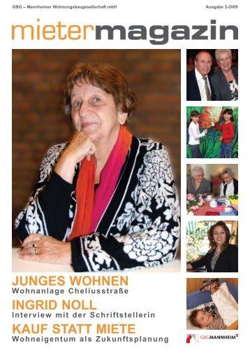 Magazin 2009-02 - Redaktionsbüro Edith Redzich-Augstein