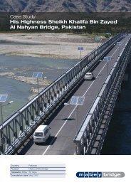 His Highness Sheikh Khalifa Bin Zayed Al Nahyan ... - Mabey Bridge