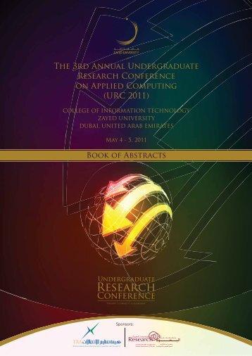 Research - Zayed University