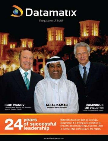 HH Sheikh Khalifa bin Zayed Al Nahyan - Datamatix