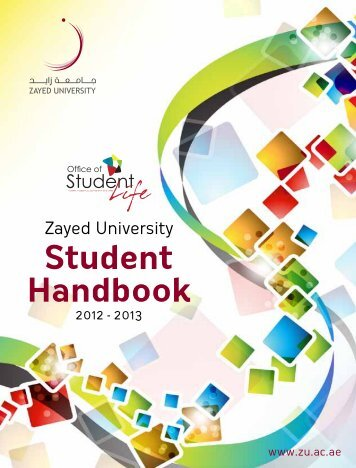 Student Handbook - Zayed University