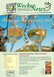 Wecker News Ausgabe 1/2011 - Hauskirchen