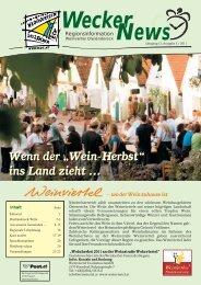 Wecker News Ausgabe 3/2011 (5,93 MB - Hauskirchen