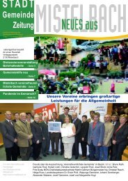Gemeinde Zeitung - Mistelbach