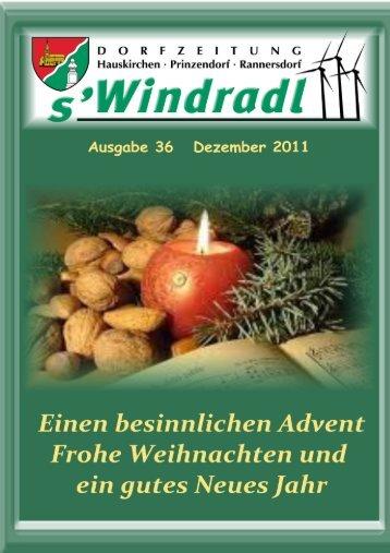 Frohe Weihnachten und ein gutes neues Jahr ... - Hauskirchen