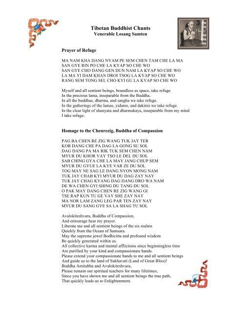 Tibetan Buddhist Chants - Losang Samten