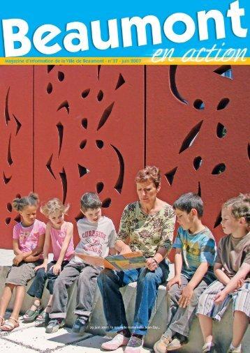 29 juin 2007, la nouvelle maternelle Jean-Zay… - Beaumont
