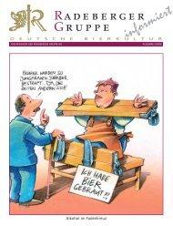 10. Preis - Radeberger Gruppe KG