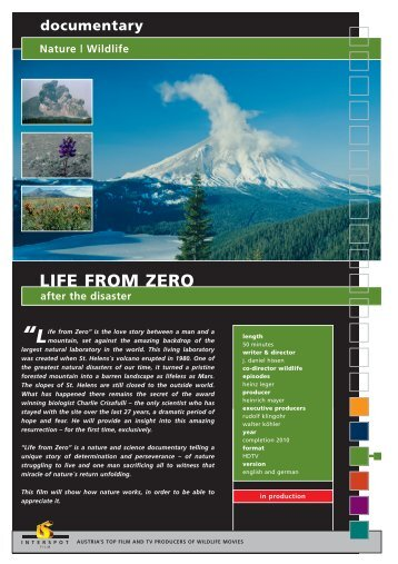 Wildlife LIFE FROM ZERO after the disaster - Interspot Film