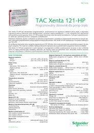TAC Xenta 121-HP