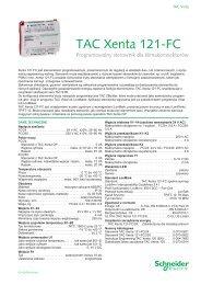 TAC Xenta 121-FC