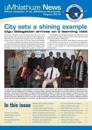 2012/08-August 2012 - City of uMhlathuze