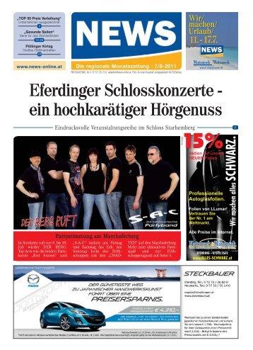 Eferdinger Schlosskonzerte - ein hochkarätiger ... - NEWS-ONLINE.at