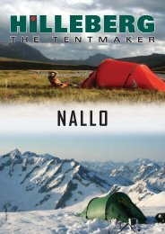 nallo - Hilleberg The Tentmaker